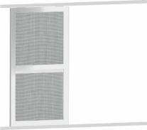 Posuvné sieťové dvere