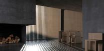 Vertikálne žalúzie, drevené